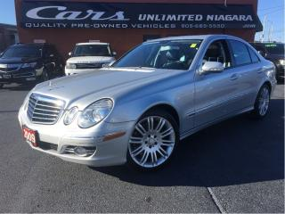 Used 2009 Mercedes-Benz E-Class NAVI ... for sale in St Catharines, ON