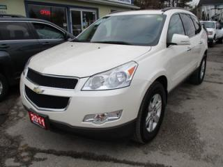 Used 2011 Chevrolet Traverse FAMILY MOVING LT EDITION 7 PASSENGER 3.6L - V6.. CAPTAINS.. THIRD ROW.. HEATED SEATS.. CD/AUX INPUT.. DUAL SUNROOF.. KEYLESS ENTRY.. for sale in Bradford, ON