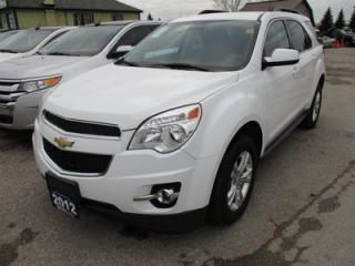 Used 2012 Chevrolet Equinox FUEL EFFICIENT LT MODEL 5 PASSENGER 2.5L - ECO-TEC.. ECON-BOOST.. HEATED SEATS.. CD/AUX/USB INPUT.. BACK-UP CAMERA.. for sale in Bradford, ON
