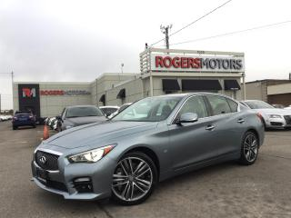 Used 2014 Infiniti Q50 SPORT AWD - NAVI - 360 CAMERA for sale in Oakville, ON