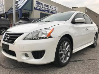 Used 2013 Nissan Sentra ONE OWNER|HEATED SEATS|BACKUP CAMERA|SUNROOF|CERTIFIED for sale in Concord, ON