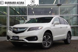Used 2017 Acura RDX Elite at Navi/Parking Sensors/Bluetooth! for sale in Vancouver, BC