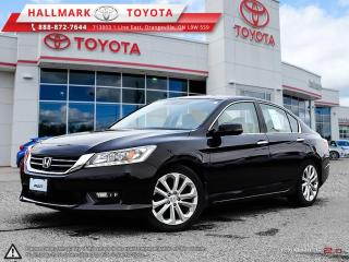 Used 2014 Honda Accord Sedan L4 Touring CVT for sale in Mono, ON