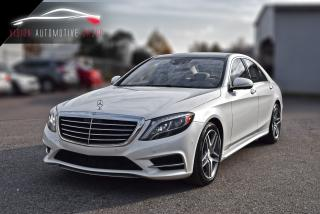 Used 2014 Mercedes-Benz S-Class S550|DUAL SUNROOF|NAV|SENSORS|BURMESTER SOUND for sale in North York, ON