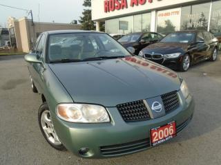 Used 2006 Nissan Sentra 1.8NO ACCIDENTS AUX  PL,PM,PW SAFETY AND E TEST IN for sale in Oakville, ON
