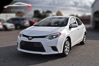 Used 2016 Toyota Corolla LE|BACKUP CAMERA|HEATED SEATS|BLUETOOTH for sale in North York, ON