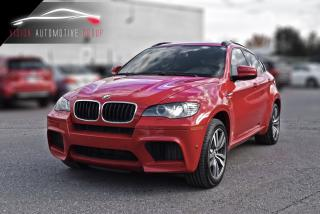 Used 2012 BMW X6 M NAVI+360 CAM+DVD+CERTIFIFED for sale in North York, ON