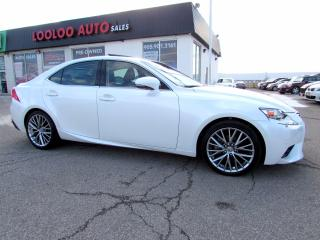 Used 2014 Lexus IS 250 AWD NAVIGATION CAMERA CERTIFIED WARRANTY for sale in Milton, ON