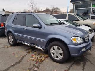 Used 2005 Mercedes-Benz ML 350 elegant-loaded-all wheel drive-chrome side steps-r for sale in Scarborough, ON