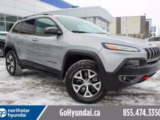 Used 2016 Jeep Cherokee Trailhawk V6/POWERGATE/SUNROOF/NAV for sale in Edmonton, AB