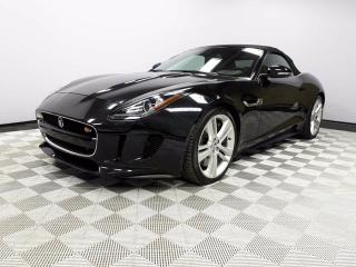 Used 2014 Jaguar F-Type V8 S - CPO 6yr/160000kms manufacturer warranty included until May 7, 2020! CPO rates starting at 0.9%! Local One Owner Trade In | No Accidents | 3M Protection Applied | Bluetooth | Active Sport Exhaust | Reverse Traffic/Blind Spot/Closing Vehicle Sensors  for sale in Edmonton, AB