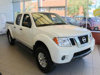 New 2018 Nissan Frontier SV 4x4 Crew Cab 2.5, Mud Tires and Rims, Tonneau Cover, 2-Way Starter, Leveling Kit, Running Boards for sale in Edmonton, AB