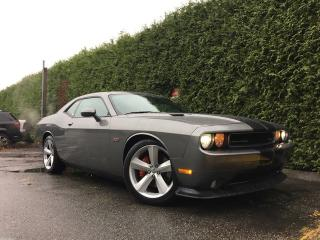 Used 2012 Dodge Challenger SRT8 392 + NAV + SUNROOF + HEATED FT SEATS + NO EXTRA DEALER FEES for sale in Surrey, BC