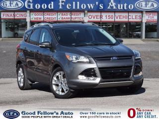 Used 2014 Ford Escape TITANIUM, LEATHER SEATS, PAN ROOF, FWD, 2.0 L ECO for sale in North York, ON