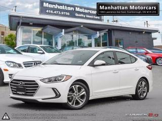 Used 2017 Hyundai Elantra GLS |AUTO|FAC.WARRANTY|ROOF|ALLOY|1OWNER for sale in Scarborough, ON