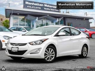 Used 2016 Hyundai Elantra SPORT |AUTO|FAC.WARRANTY|ROOF|ALLOY|49000KM for sale in Scarborough, ON