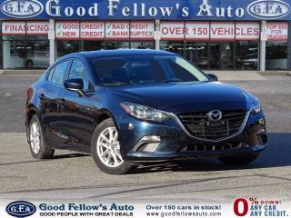 Used 2015 Mazda MAZDA3 GS MODEL, REARVIEW CAMER for sale in North York, ON