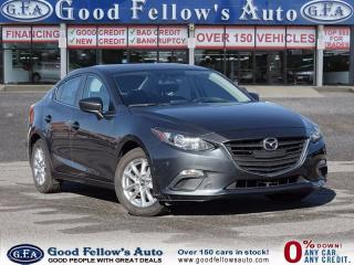 Used 2015 Mazda MAZDA3 GS MODEL, SKYACTIVE, REARVIEW CAMERA, NAVIGATION for sale in North York, ON