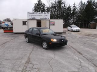 Used 2003 Hyundai Accent GS for sale in Elmvale, ON