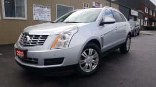 Used 2013 Cadillac SRX 4 Luxury-AWD-NAV-PAN ROOF-REMOTE START-HEATED LEAT for sale in Tilbury, ON