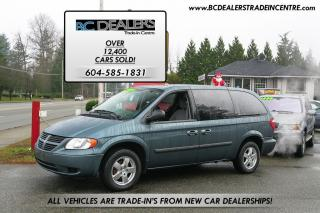 Used 2006 Dodge Grand Caravan Stow 'N Go, Power Group, Alloy Wheels, No Accident for sale in Surrey, BC