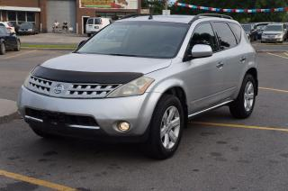 Used 2006 Nissan Murano SL AWD BackUp Camera No Accident for sale in North York, ON