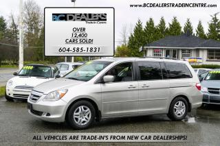 Used 2007 Honda Odyssey EX-L, Leather, Sunroof, Loaded, Local BC Van for sale in Surrey, BC