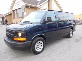 Used 2012 Chevrolet Express 1500 LS ALL WHEEL DRIVE 8Passenger 5.3L ONLY 68,000KMs for sale in Etobicoke, ON