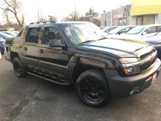 Used 2003 Chevrolet Avalanche Z71 / 4x4 / Auto / Leather / READY FOR WORK! for sale in Scarborough, ON