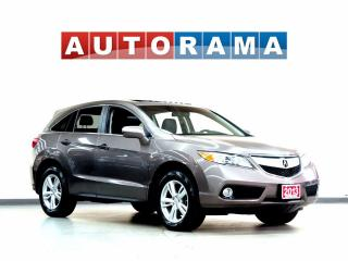 Used 2013 Acura RDX LEATHER SUNROOF 4WD BACKUP CAM for sale in North York, ON