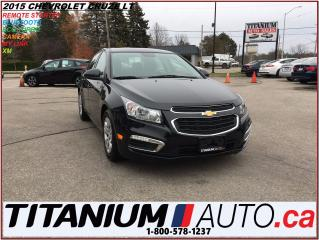 Used 2015 Chevrolet Cruze LT+Camera+Remote Starter+My Link+BlueTooth+XM+Turb for sale in London, ON