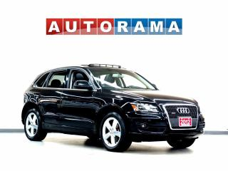 Used 2012 Audi Q5 NAVIGATION LEATHER PAN SUNROOF 4WD BACKUP CAM for sale in North York, ON