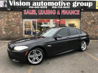 Used 2012 BMW 5 Series 535i xDrive|M-SPORT|NAVI|BACKUP CAM|CERTIFIED for sale in North York, ON