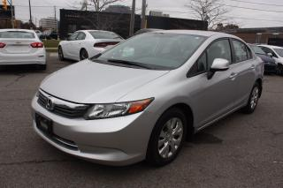 Used 2012 Honda Civic LX Accident Free for sale in North York, ON
