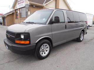Used 2010 Chevrolet Express 1500 LS ALL WHEEL DRIVE 8Passenger Certified for sale in Etobicoke, ON