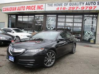 Used 2015 Acura TLX TECH-SH-AWD-NAV-LEATH-CAM-BLIND SPOT for sale in Scarborough, ON