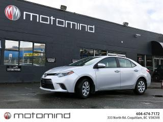 Used 2016 Toyota Corolla LE for sale in Coquitlam, BC