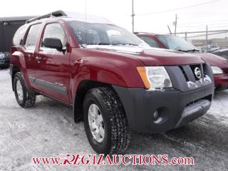 Used 2008 Nissan XTERRA  4D UTILITY for sale in Calgary, AB