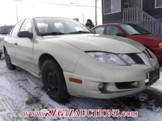 Used 2003 Pontiac SUNFIRE  4D SEDAN for sale in Calgary, AB