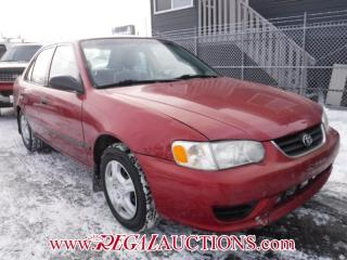 Used 2001 Toyota Corolla CE 4D Sedan for sale in Calgary, AB