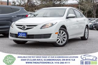 Used 2011 Mazda MAZDA6 Sunroof Bluetooth 4Cyl Alloys for sale in Scarborough, ON