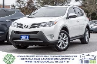 Used 2013 Toyota RAV4 LIMITED AWD NAVI BackupCam Sunroof Bluetooth for sale in Caledon, ON
