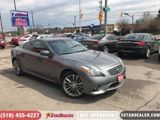 Used 2012 Infiniti G37 X Sport | NAV | LEATHER | ROOF | AWD for sale in London, ON
