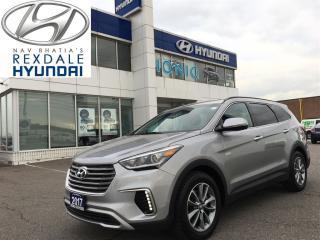 Used 2017 Hyundai Santa Fe XL Premium AWD 2.99% FINANCING o.a.c. for sale in Etobicoke, ON