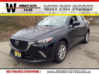 Used 2016 Mazda CX-3 GS|LEATHER|BACKUP CAMERA|SUNROOF|33,720 KMS for sale in Cambridge, ON