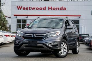 Used 2016 Honda CR-V EX-L - Warranty Until 2022 for sale in Port Moody, BC