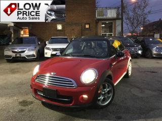 Used 2013 MINI Cooper Cooper*PanoramicRoof*HtdSeats*Bluetooth*MiniWarr* for sale in York, ON
