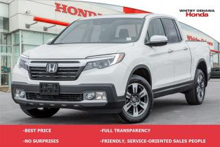 Used 2017 Honda Ridgeline Touring | Automatic for sale in Whitby, ON