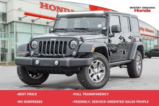 Used 2014 Jeep Wrangler Unlimited Rubicon for sale in Whitby, ON