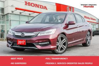 Used 2017 Honda Accord Touring | Automatic for sale in Whitby, ON